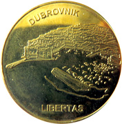 Token - Croatian Heritage (Dubrovnik) – obverse