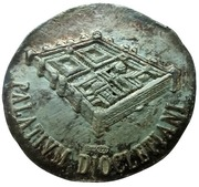 Token - Diocletian's Palace – reverse