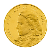 Medal - Ivan Mestrovic (Gold; small size) – obverse