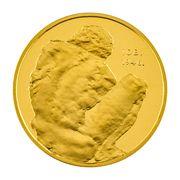 Medal - Ivan Mestrovic (Gold; large size) – reverse