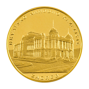 Medal - Croatian National Theatre in Zagreb (Gold) – obverse