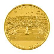 Medal - Lenuci Horseshoe (Gold) – reverse
