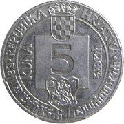 5 Kuna (Senj Anniversary) -  reverse