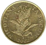 10 Lipa (Latin text) -  obverse