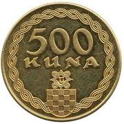 500 Kuna - Ante Pavelic – reverse