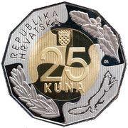 25 Kuna (U.N. Membership) -  reverse