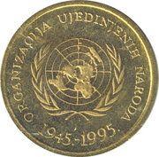 10 Lipa (United Nations) – obverse
