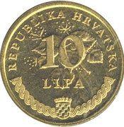 10 Lipa (United Nations) – reverse