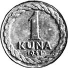 1 Kuna – reverse