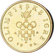 5 Lipa (Olympics) – obverse