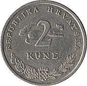2 Kune (Croatian text) -  reverse