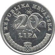20 Lipa (Latin text) -  reverse