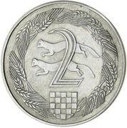 2 Kune (Pattern; Nickel) – reverse