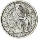 2 Kuna (Pattern; silver) – obverse