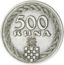 500 Kuna (Pattern) – reverse