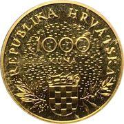 1000 Kuna (Independence) – obverse