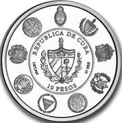 10 Pesos (Muralla de la Habana) -  obverse