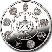 10 Pesos (20th Anniversary) -  obverse