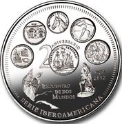 10 Pesos (20th Anniversary) -  reverse