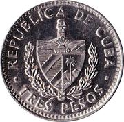 3 Pesos (Che Guevara) -  obverse