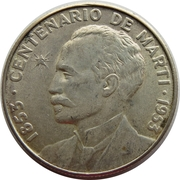 50 Centavos (José Martí) -  reverse