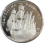 10 Pesos (Santisima Trinidad) -  reverse