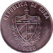 "1 Peso (""Welcome the New Millennium"") -  obverse"