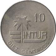 10 Centavos (INTUR) -  reverse