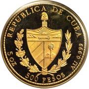 500 Pesos (Christopher Columbus) – reverse