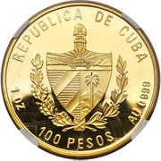 100 Pesos (Gold's Tower) – obverse