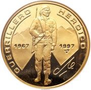 100 Pesos (Heroic Guerrilla Fighter) – reverse