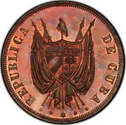 20 Centavos (Pattern) – obverse
