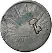 2 Reales (Countermarked - Key) – reverse