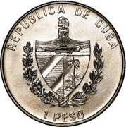 1 Peso (50th. Anniversary of United Nations) -  obverse