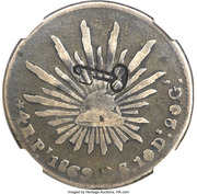 4 Reales (Countermarked) – reverse