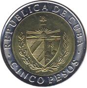 5 Pesos (Antonio Maceo) -  obverse