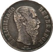 1 Peso (Countermarked) – obverse