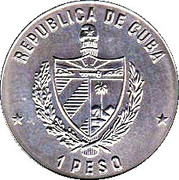 1 Peso (Celia Sanchez Manduley) -  obverse