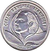 1 Peso (Celia Sanchez Manduley) -  reverse