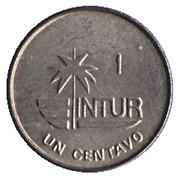 1 Centavo (INTUR) – reverse