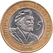 5 Pesos (Ernesto Che Guevara) -  reverse