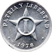 1 Centavo -  reverse
