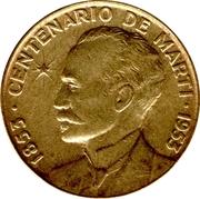 1 Centavo (José Martí) – reverse
