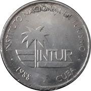 1 Centavo (INTUR) – obverse