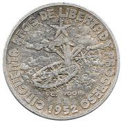 20 Centavos (50th. Anniversary of the Republic) -  reverse