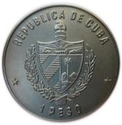 1 Peso (Esperanto Congress) -  obverse