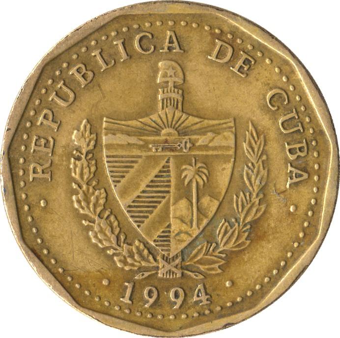 1 Peso - Cuba - Numista