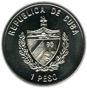 1 Peso (Blackbeard) -  obverse