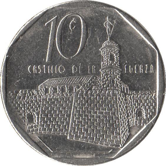 10 Centavos Cuba Numista