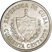 40 Centavos -  obverse